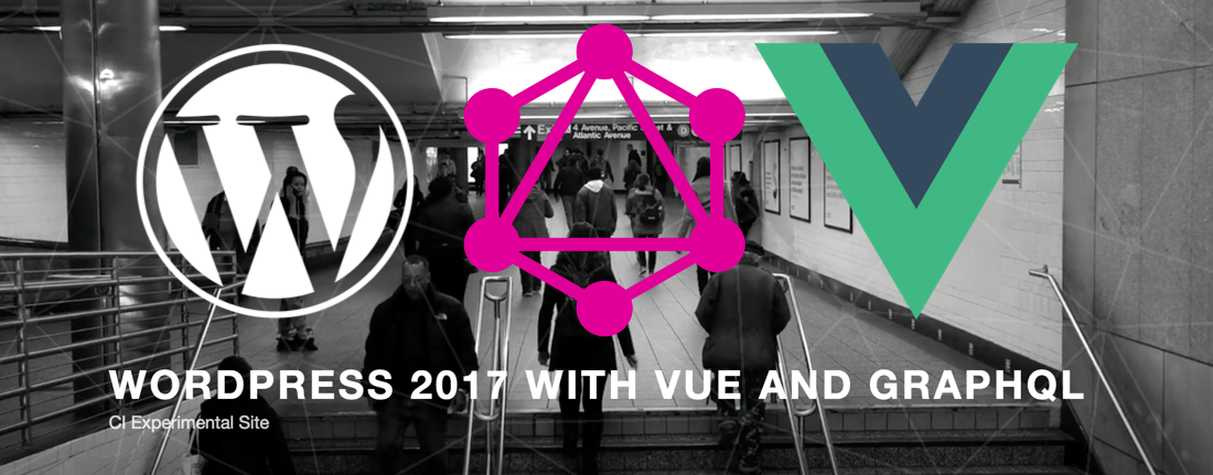 Create a Wordpress TwentySeventeen theme with VueJS and GraphQL